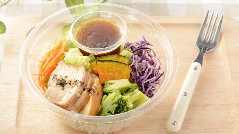 【注目商品】 1食分の野菜が摂れる!ブランパスタサラダ ...