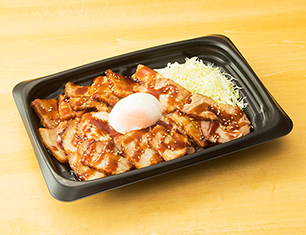 肉メガ盛!直火で炙った焼豚丼
