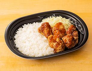 鶏から弁当(おろしポン酢)