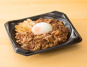 牛すき焼き丼