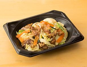 肉野菜丼(牛焼肉)