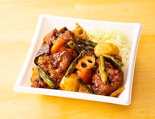 鶏からと野菜の甘酢あんBOX