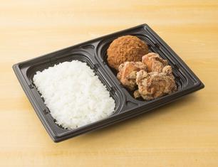 FFメンチ&鶏から弁当