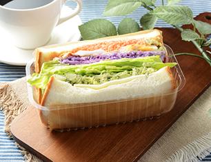 1食分の野菜が摂れるサンド 6種野菜とチキン