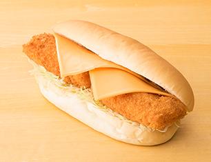 チーズフィッシュタルタル(コッペパン)