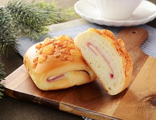 チーズとハムマヨネーズパン 2個入