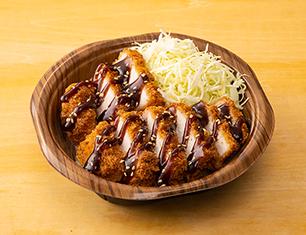 三元豚の厚切りロースソースカツ丼