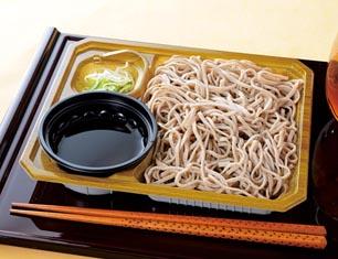 北海道産玄蕎麦使用 ざるそば