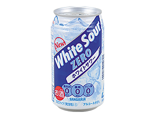 サンガリア 糖類0ホワイトサワー 350ml【ローソン限定】