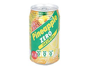 サンガリア 糖類ゼロパインサワー 350ml【ローソン・ポプラ限定商品】