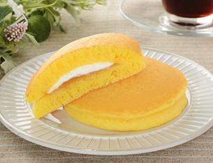 もちっとパンケーキ 安納芋あん&ミルクホイップ 2個入