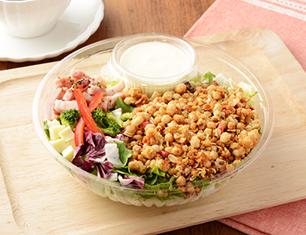 フルグラ®をかけて食べるチョップドサラダ