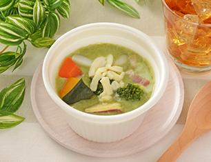 19品目の野菜が摂れる緑のポタージュ