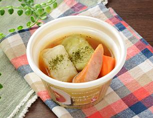 ロールキャベツのトマトスープ