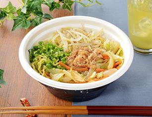 香ばし野菜炒めの味噌ラーメン