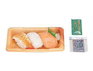 にぎり寿司3カン