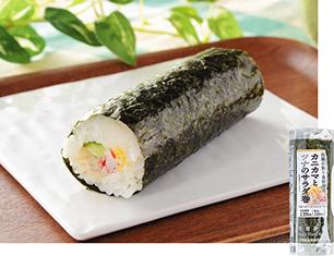 手巻寿司 カニカマとツナのサラダ巻