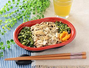 三陸産さばを使った生姜香るほぐしご飯
