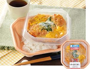ロースかつ丼(ご飯小盛り)