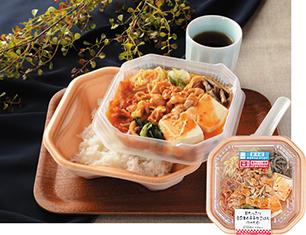豆腐キムチチゲごはん(つゆだく)