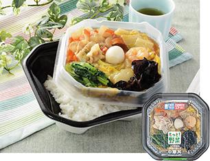 1/2日分の野菜が摂れる中華丼