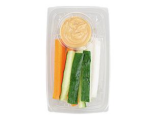 味噌マヨで食べる野菜スティック