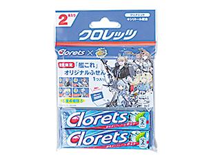 モンデリーズ・ジャパン クロレッツクリアミント2P×艦これ【ローソン限定商品】