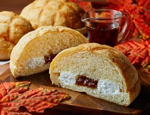 メープル&ホイップメロンパン