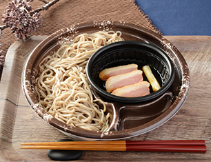 北海道産玄蕎麦使用 鴨つけそば(ひやあつ)