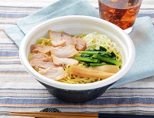 鶏ガラと魚介のWスープ 中華そば