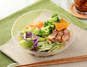 1食分の野菜が摂れるサラダラーメン