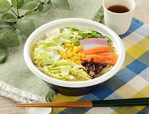 1/2日分の野菜が摂れる 春キャベツのちゃんぽん
