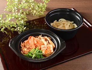 鍋から〆まで楽シメる!豚チゲ鍋(うどん)