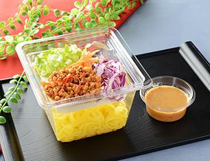 大豆そぼろのこんにゃく麺サラダ