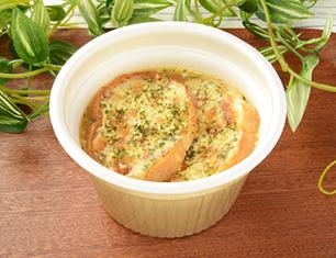 香ばしチーズのオニオングラタンスープ