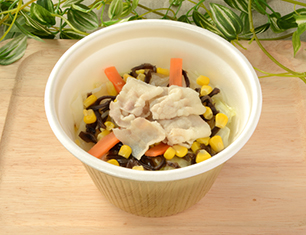野菜と春雨の白湯スープ