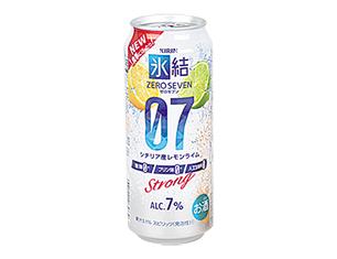 キリン 氷結07レモンライム 500ml【ローソン限定商品】