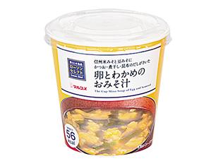 卵とわかめのおみそ汁 26g