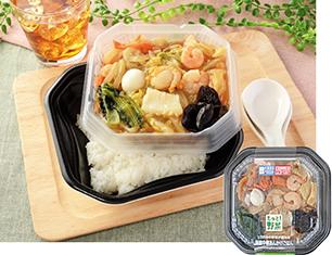 1/2日分の野菜が摂れる 海鮮中華あんかけご飯