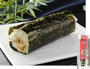 手巻寿司 豚しょうが焼(増量)