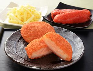 北海道産いももち(明太チーズ)