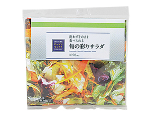 旬の彩りサラダ