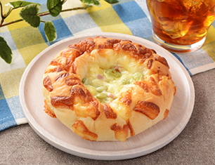 枝豆チーズベーコンパン
