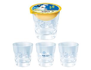 未来のミライ グラス&みかんゼリー 400g【ローソン限定商品】
