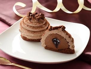 チョコボンブケーキ