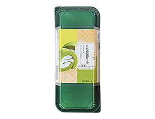 もち食感ロール(宇治抹茶&ホワイトチョコ風味クリーム)