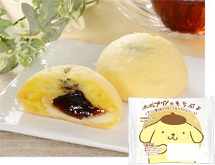 ポムポムプリンのもちぷよ(プリン風味カスタード&カラメルソース)