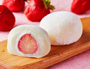 ホワイトチョコレートいちご大福