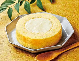 UchiCafe' SWEETS × 八天堂 カスタードくりーむロールケーキ
