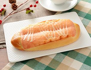 明太マヨソースのふわふわパン